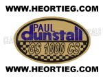 Paul Dunstall Suzuki GS 1000 CS Tank and Fairing Transfer Decal DDUN11-6